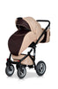 3 In 1 Baby Pram with Infant Car Seat, Carrycot and Pushchair - Blu Retail Group