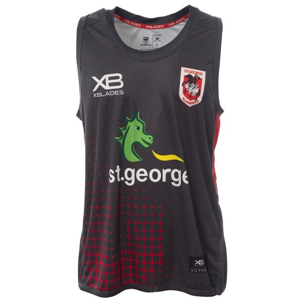 2018 ST GEORGE DRAGONS TRAINING SINGLET