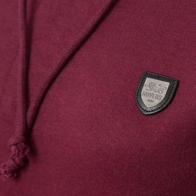 LION COLLECTION LADIES WINE HOODY