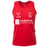 RED TRAINING VEST