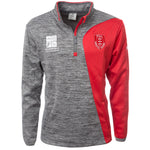 2020 JUNIOR GREY 1/4 ZIP PULLOVER