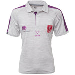 MARL AND PURPLE POLO SHIRT