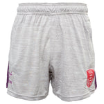 MARL AND PURPLE TRAINING SHORTS