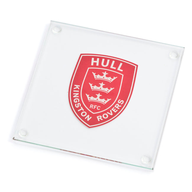 CREST GLASS COASTER