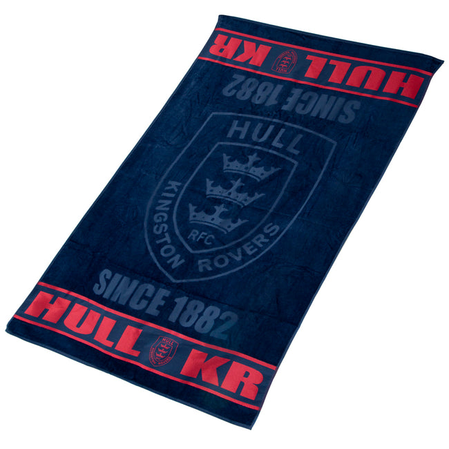 NAVY LUXURY TOWEL