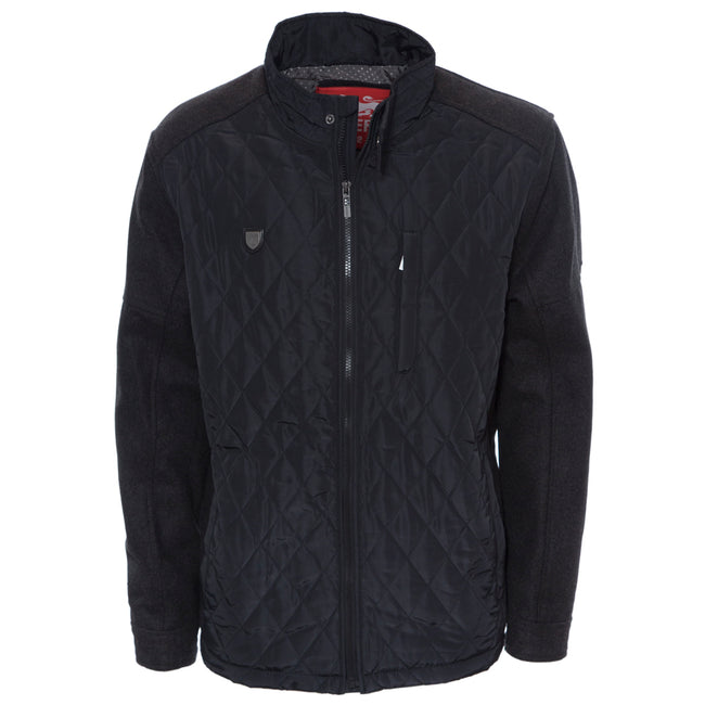 Lion Collection Charcoal Padded Jacket