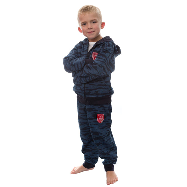 JUNIOR CAMO JOG SUIT