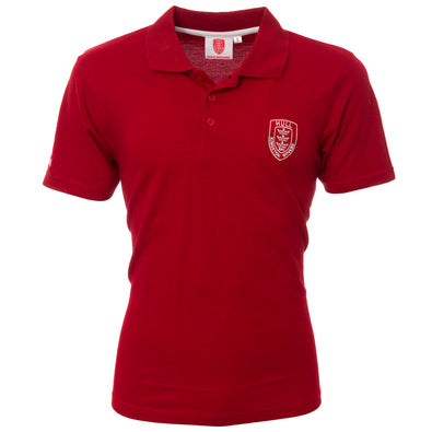 ESSENTIAL RED POLO