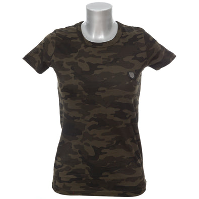 LION COLLECTION LADIES CAMO TEE