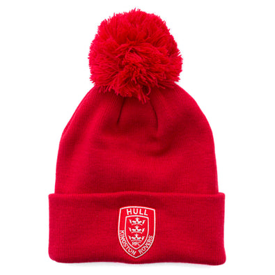 CLASSIC RED POM HAT