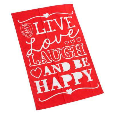LIVE LOVE LAUGH TEA TOWEL