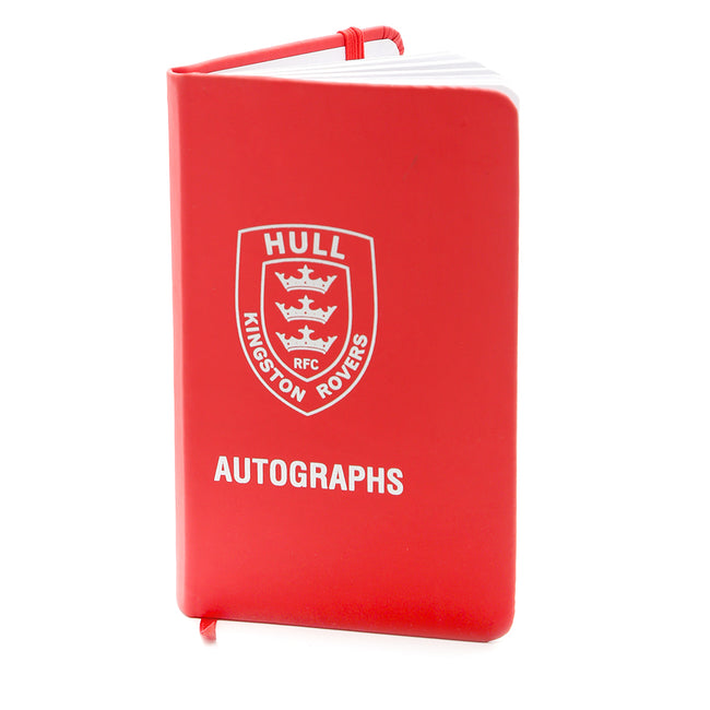 Red Autograph Book