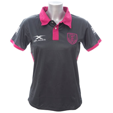 2018 LADIES PINK COLLAR POLO