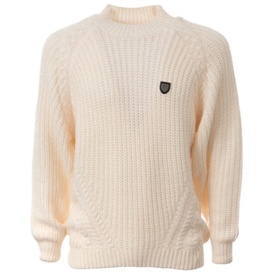 LION COLLECTION LADIES CHUNKY KNIT JUMPER