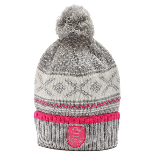 Ladies Luxury Knit Bobble Hat