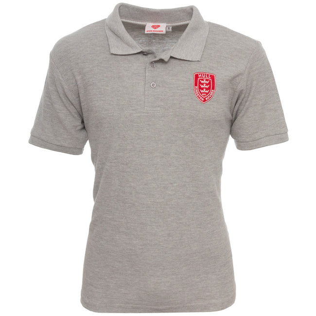GREY MARL MACK POLO