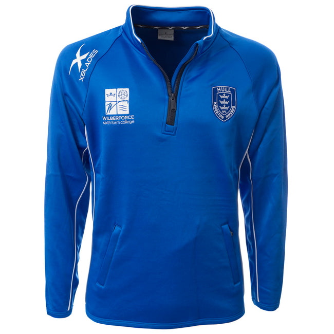 2019 JUNIOR ROYAL 1/4 ZIP JACKET