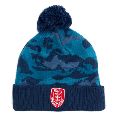 CAMO BOBBLE HAT