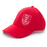 RED AND WHITE PRESSED CAP