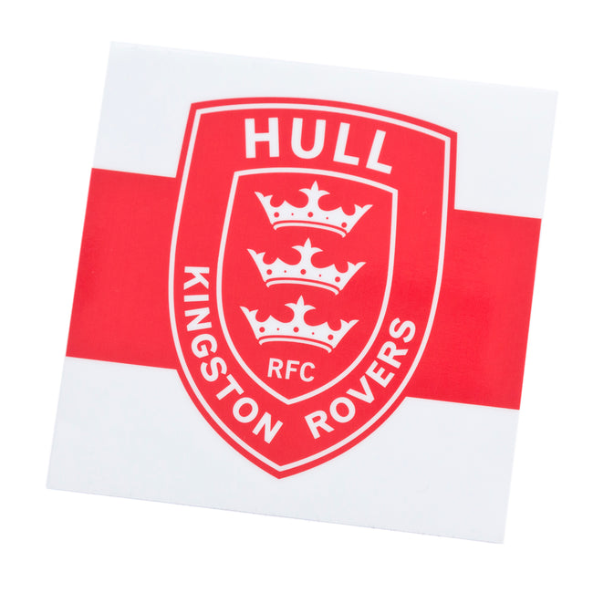 HOOPED CREST WINDOW STICKER