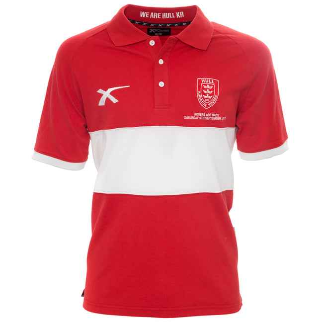 Rovers are Back Red Cotton Polo