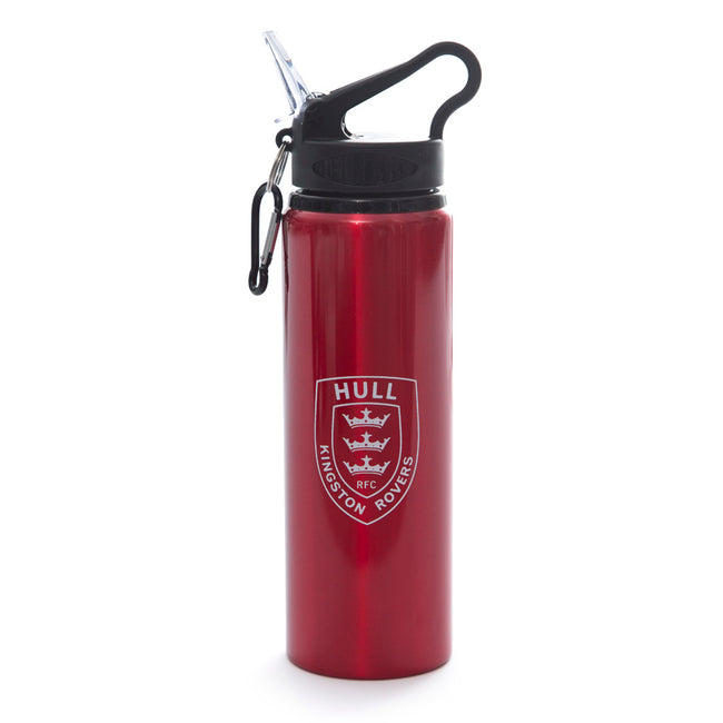 RED ALUMINIUM WATER BOTTLE