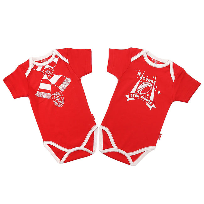 Twin Pack Baby Vest