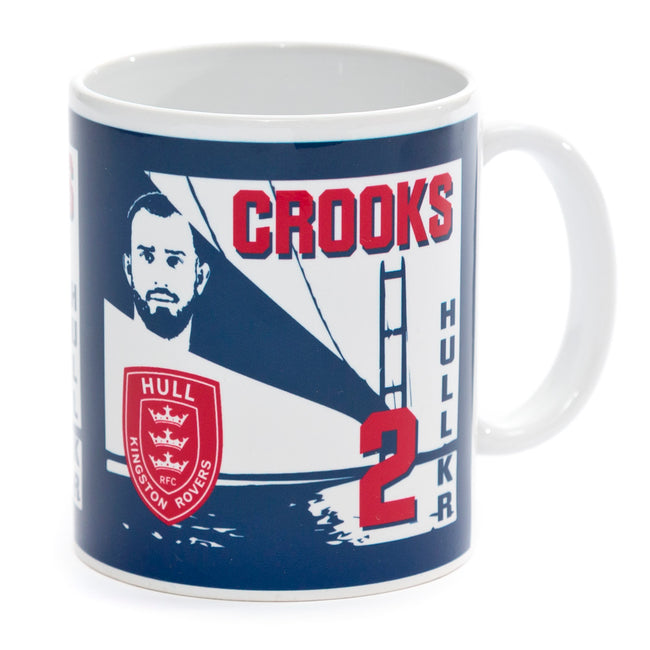 CROOKS PLAYER MUG