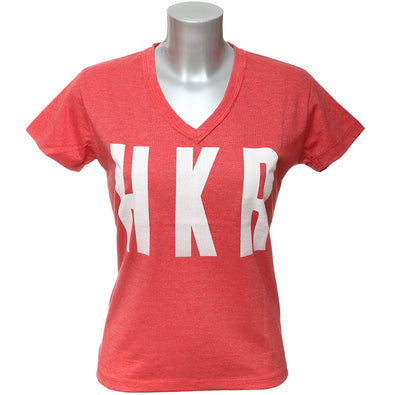 Ladies Rubber Print Tee