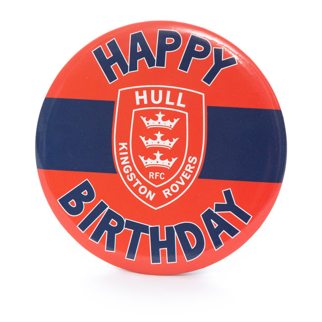 GIANT HOOPED CREST BIRTHDAY BADGE