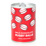 CHOCOLATE RUGBY BALL TINS