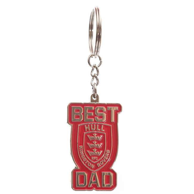 BEST DAD KEYRING