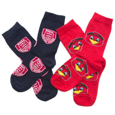KIDS TWIN PACK SOCKS