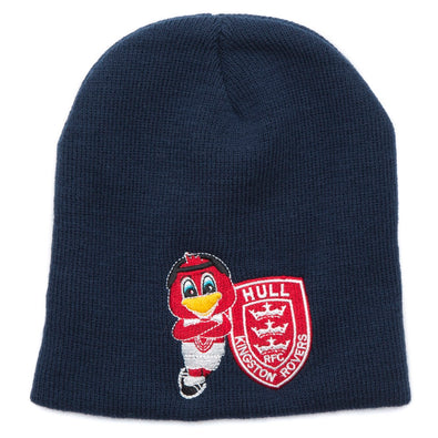 JUNIOR NAVY RUFUS BEANIE