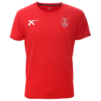 Junior Red Cotton Training T-Shirt