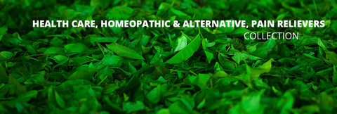 Health Care, Homeopathic & Alternative, Pain relievers