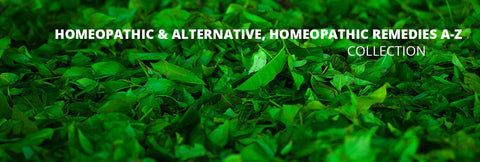 Homeopathic & Alternative, Homeopathic remedies a-z