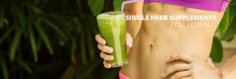 Single herb supplements