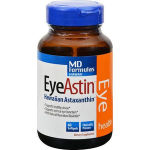 Nutrex Hawaii MD Formulas EyeAstin - 60 Vegetarian Softgels