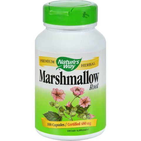 Nature's Way Marshmallow Root - 100 Capsules