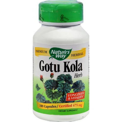 Nature's Way Gotu Kola Herb - 100 Capsules
