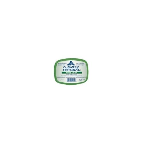 Clearly Naturals Aloe Vera Soap (1x4 Oz)