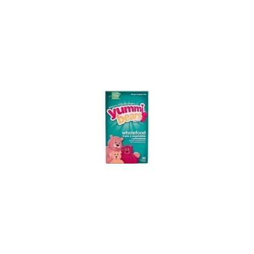 Hero Nutritionals Yummi Bears Whole Food Supplement (1x90 BEARS)