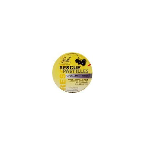Bach Rescue Remedy Pastilles Black Currant Display (12x50 GM)