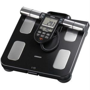 Omron(R) HBF-516B Full-Body Sensor Body Composition Monitor & Scale with 7 Fitness Indicators (180-Day Memory)