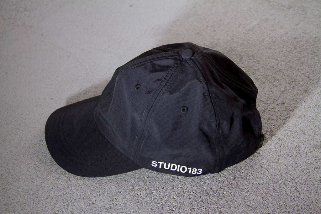 black shield cap studio183 unisex