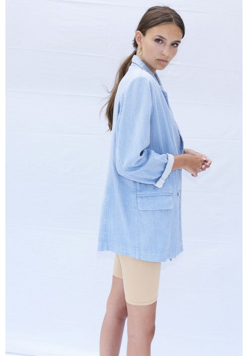 THE BLUE DENIM BLAZER - Studio183