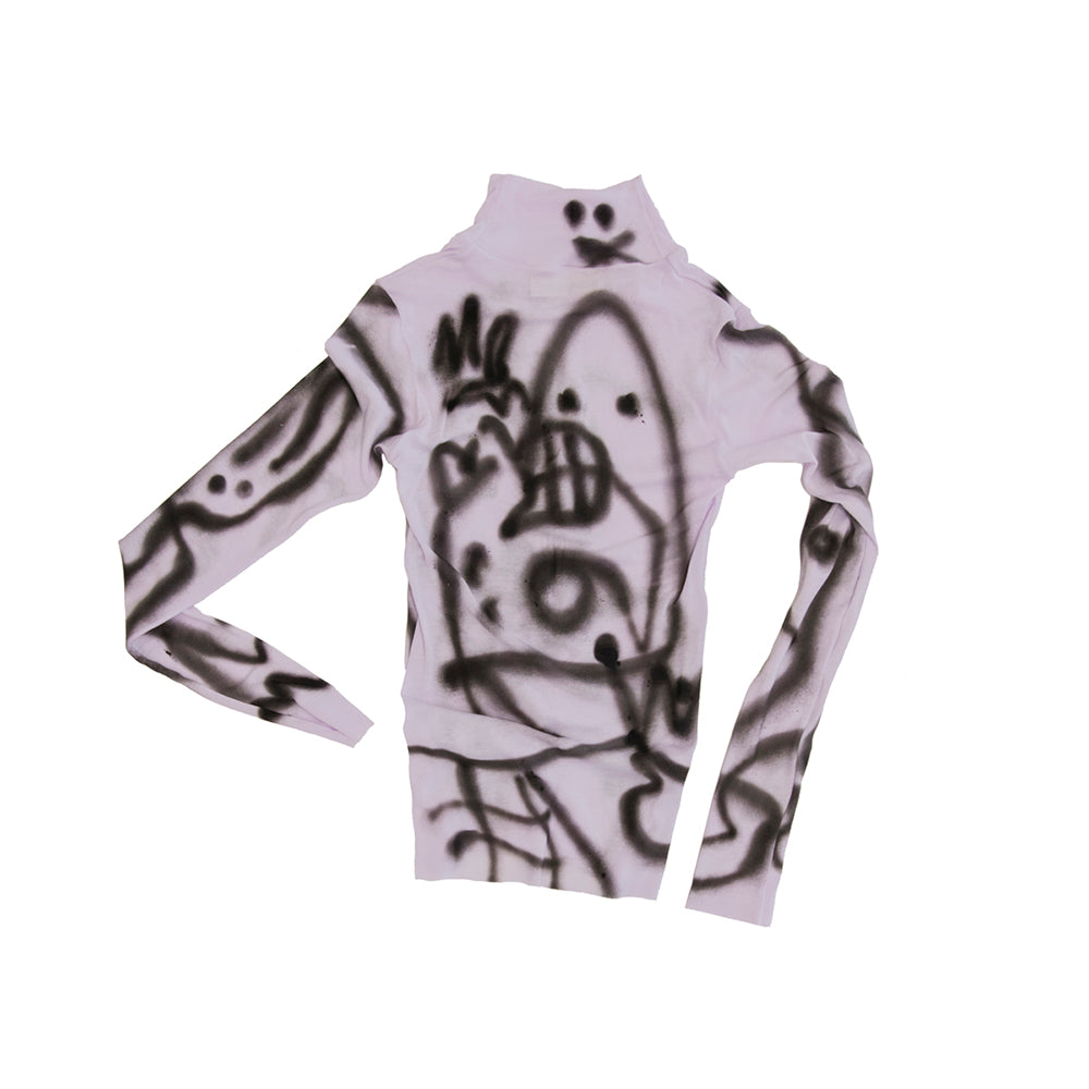 AH JERSEY HAND PAINTED TOP