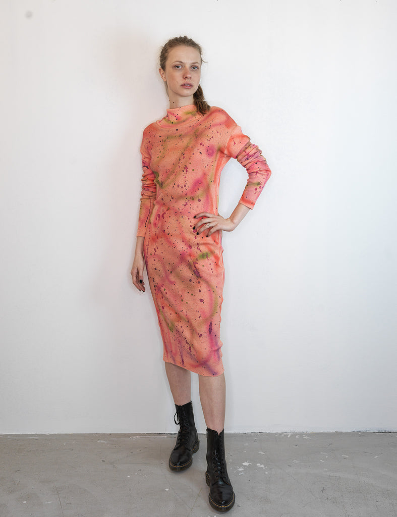 HAND PAINTED JERSEY DRESS NR.2 - Studio183