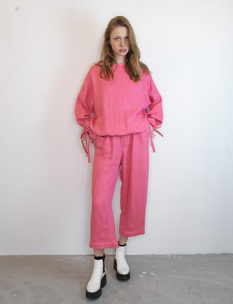 PINK WIDE LEG PANTS NR. 2 - Studio183
